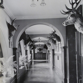 Officers' Mess Main Corridor