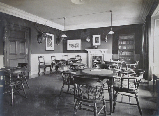Officers' Mess Card and Games Room