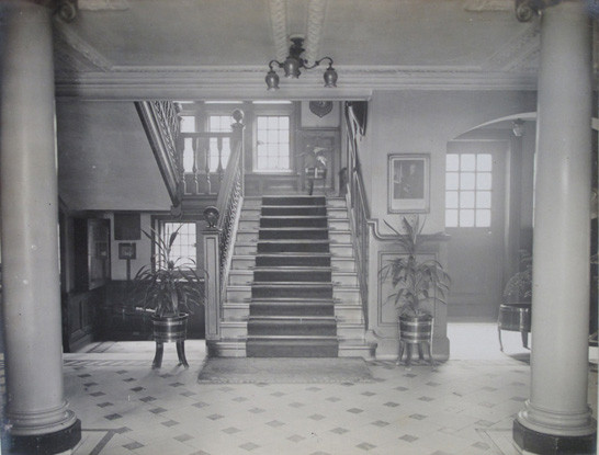 Officers' Mess Front Hall