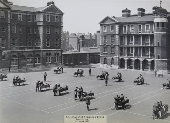 TA Ambulance Challenge Shield Competition, 3rd June 1933, Competitors
