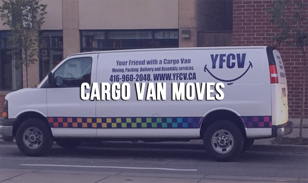 CARGO VAN MOVES