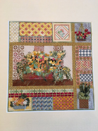 Marigolds and Moorish Tiles