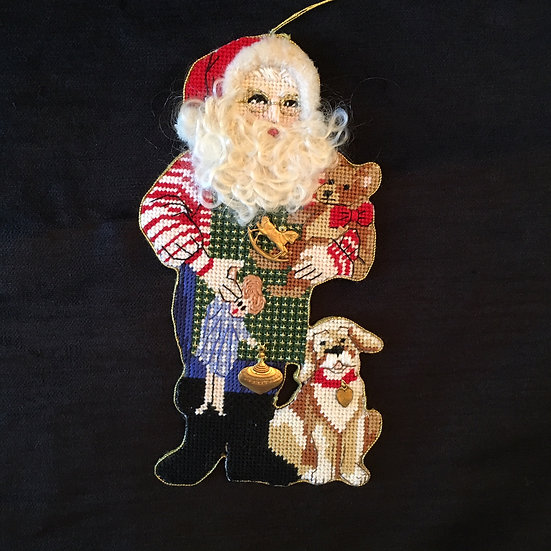 S. Claus with Toys - S0030