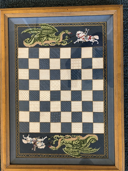 Knights and Dragons Chess Board