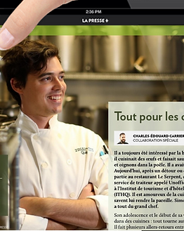Portrait La Presse +