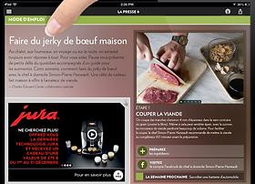 La Presse + jerky