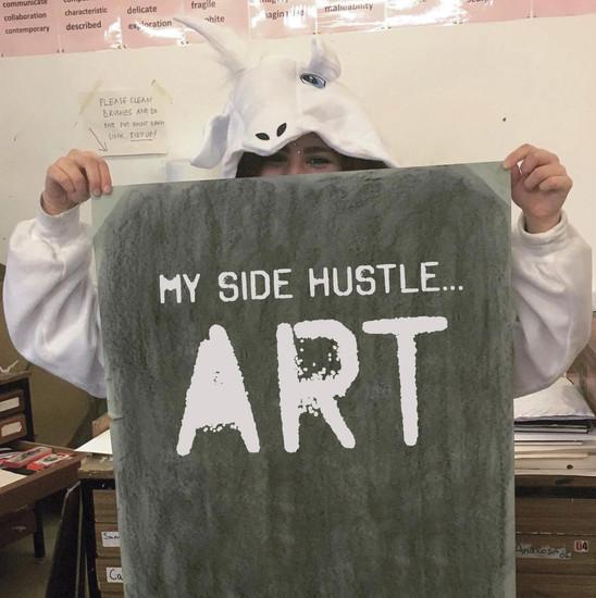 My Side Hustle... Art