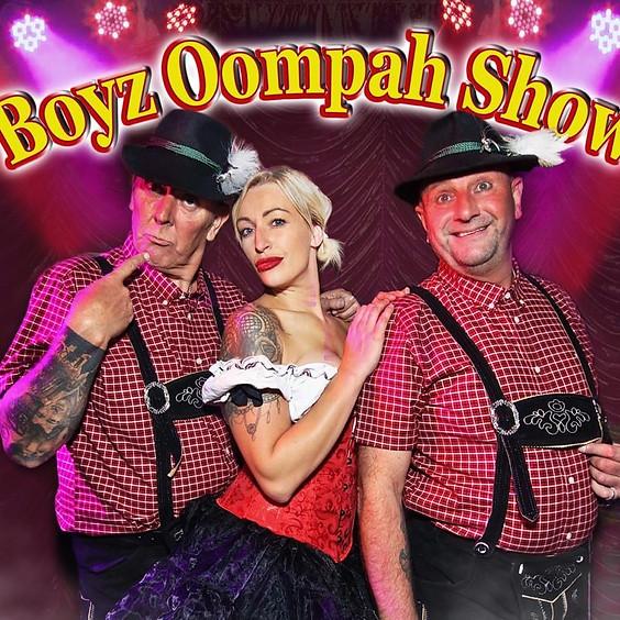 Bavarian Boyz Oompah Show + Trad Beer Keller Party