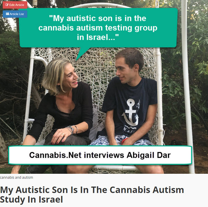 First Autism Treatment With Cannabis Approved In Israel