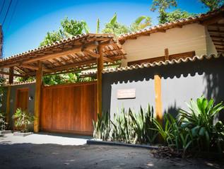 Fachada Traseira Trancoso House Boutique Pousada