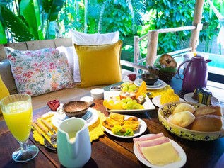 Café da manhã Trancoso House Boutique Pousada