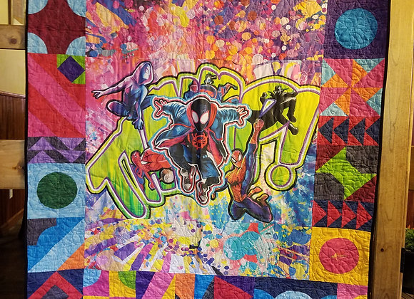 Spiderverse Graffiti: The Chalk Girl Exclusive