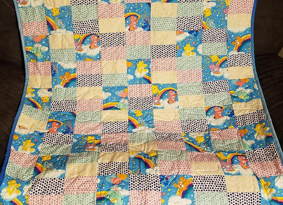 Care Bear Crib Quilt