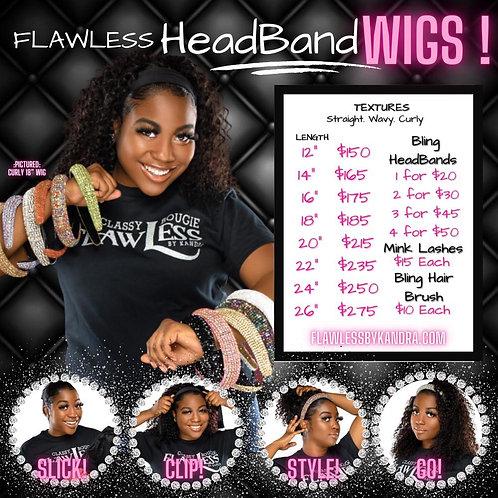 Flawless HeadBand Wigs
