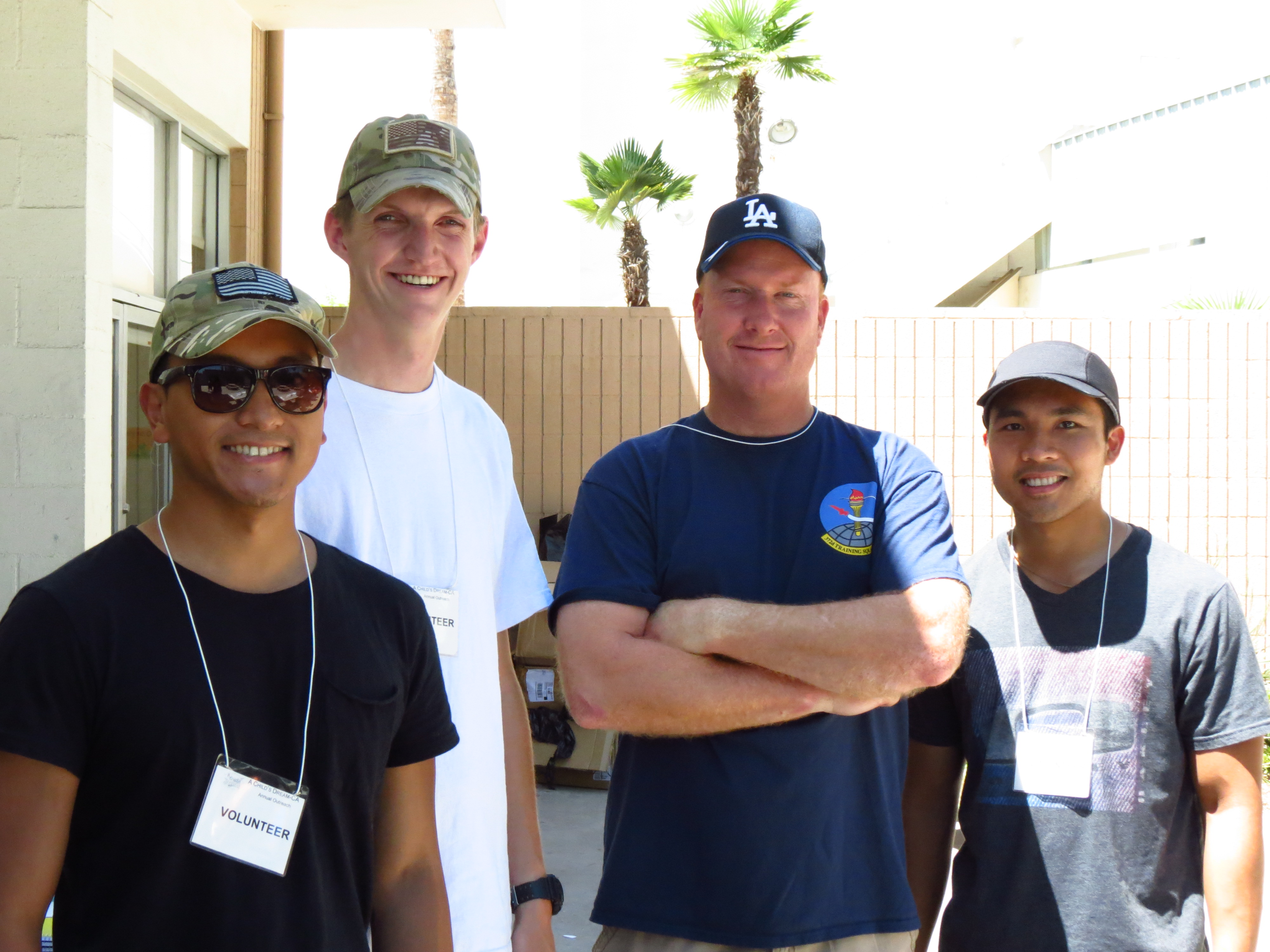 Volunteers from March AFB