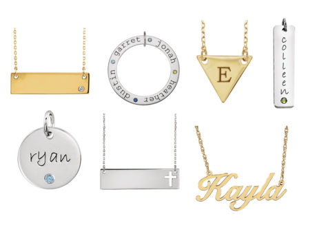 Personalized Pendants
