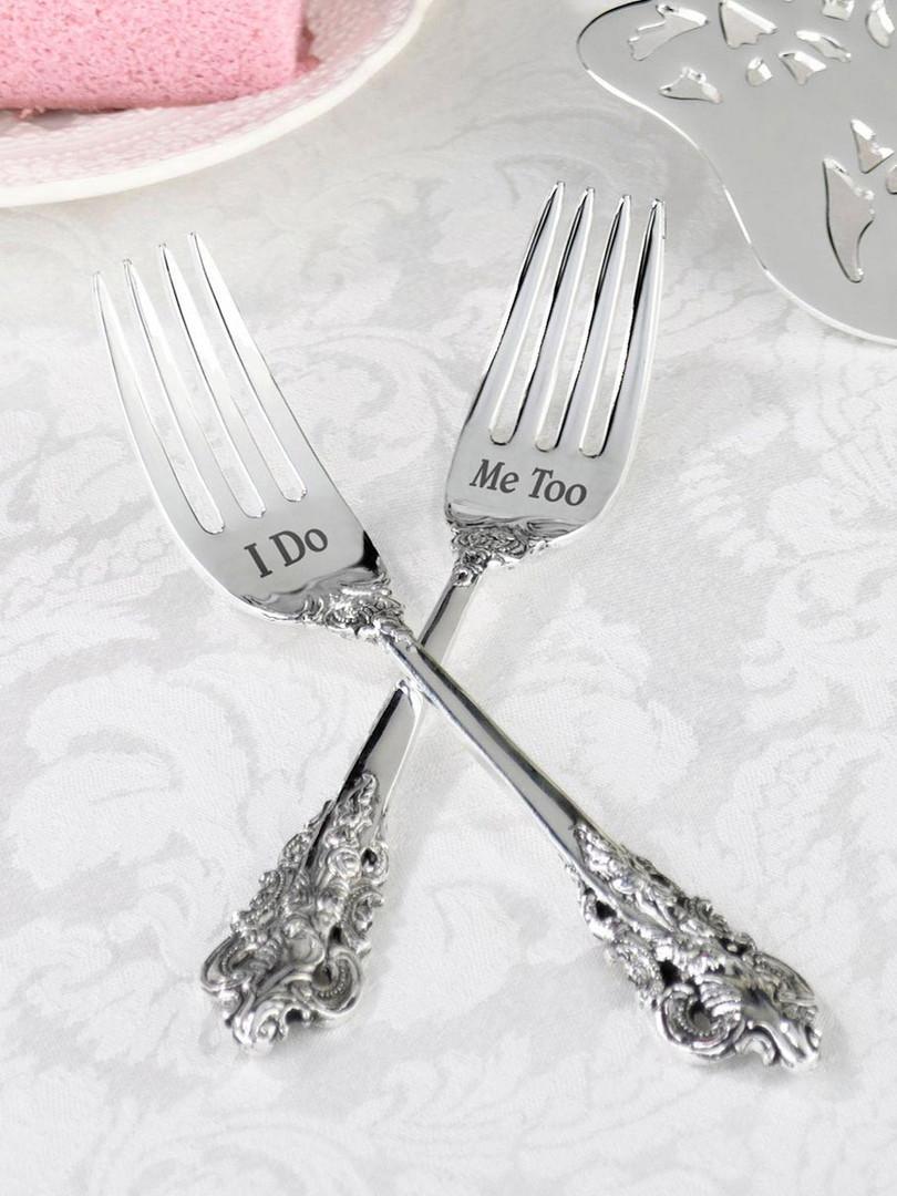 I Do cake forks
