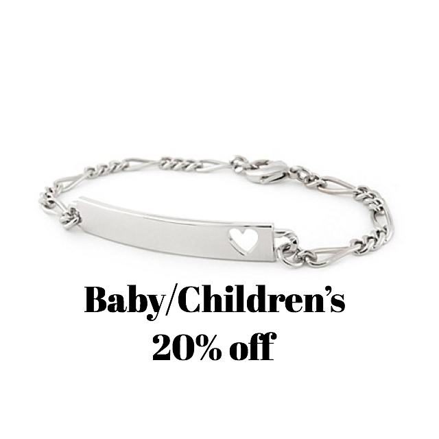 All baby&children's jewelry 20% off