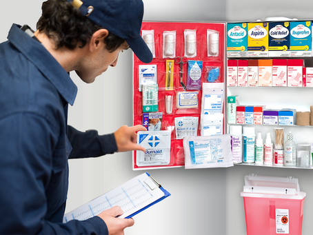 How to Restock Your First Aid Cabinet(s)