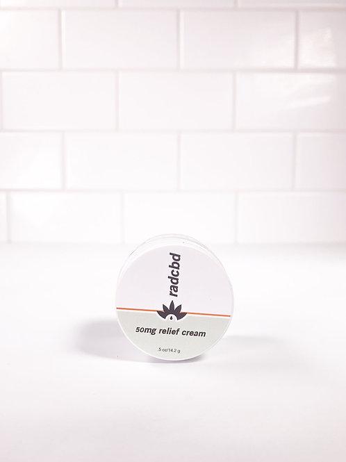 CBD Relief Cream 50mg