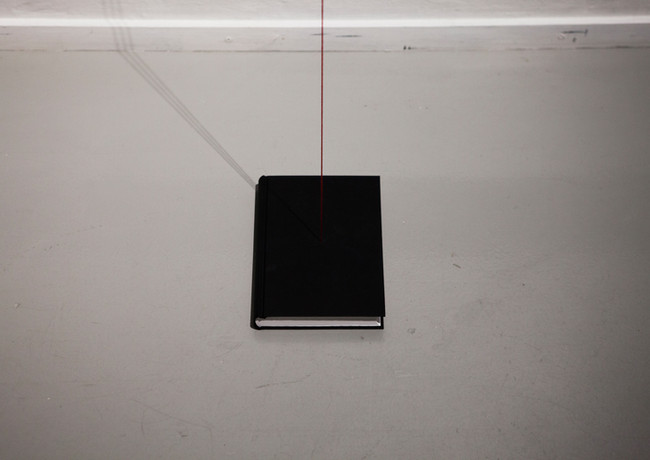 Book of Shapes, 2017 Notebook, wool thread  13 x 21 x 300 cm Edition of 5 + 2 AP
