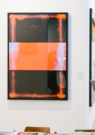 Composition #1, 2018 Diasec, framed 140 x 98 cm Edition of 5 + 2 AP  Vienna Contemporary, 2018 Photo Niko Havranek