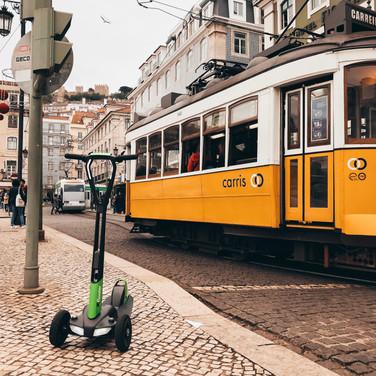 e-floater in Lisboa, Portugal