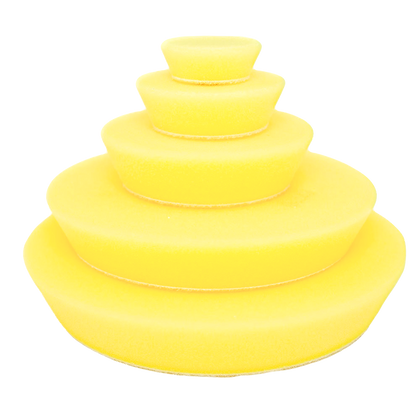 Yellow Fine Random Orbital Foam Pads 70mm/3″