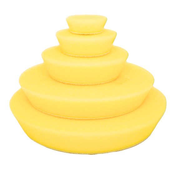 Yellow Fine Random Orbital Foam Pads 40mm/1.5″