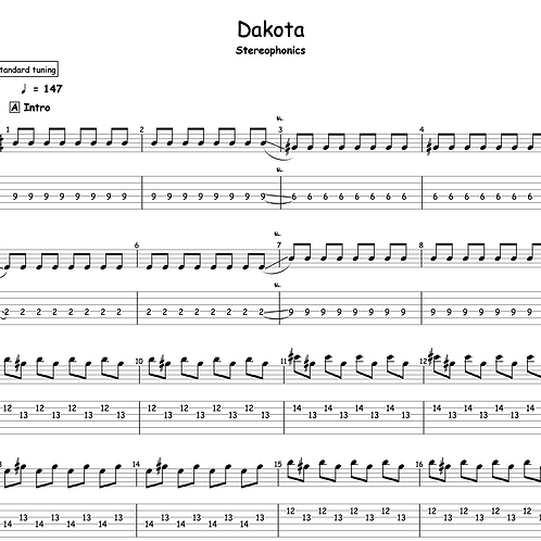 Dakota - Stereophonics