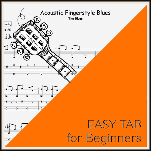 EASY Acoustic Finger-Style Blues