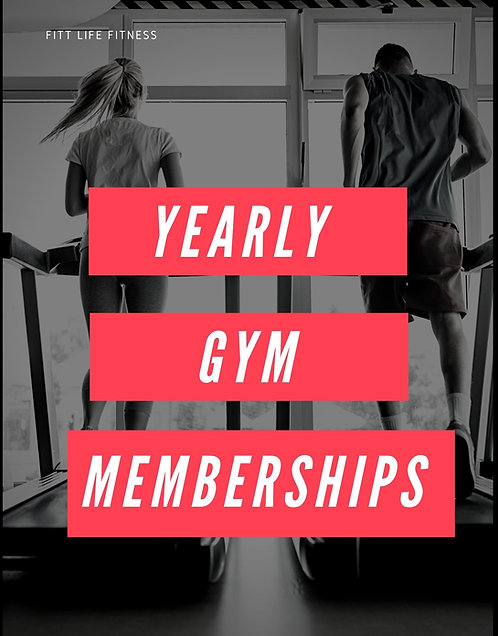 Yearly Gym Membership 24/7