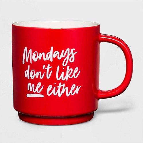 Stoneware Mondays Don't like me Mug-Threshold
