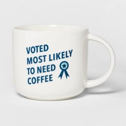 """Porcelain """"Voted Most Likely"""" Mug-Threshold"""