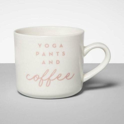 Stoneware Mug Yoga Pants & Coffee-Threshold