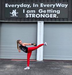 Kickboxing Trainer Allie