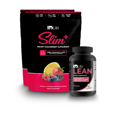 Slim+ and Lean Power Couple Bundle - Berry Lemonade