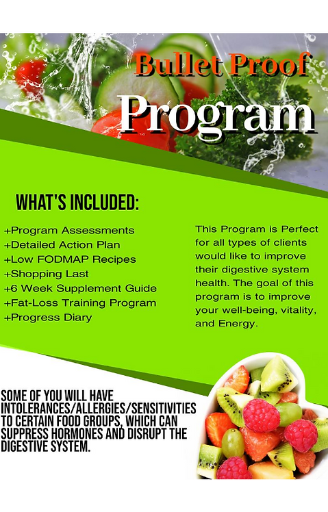 Bullet Proof Gut Program