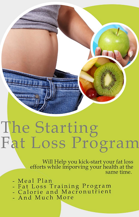 The Starting Fat Loss Program