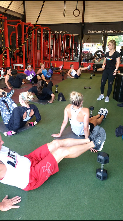8 Personal Training Group Sessions