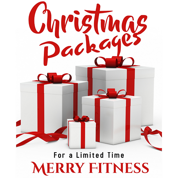 Personal Training Packages Holiday Speci