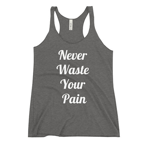 Never Waste Women's Racerback Tank