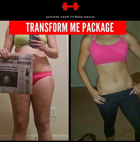 3 Month Transform Me Package Monthly