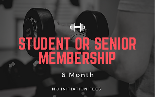 Student | Senior Gym Membership