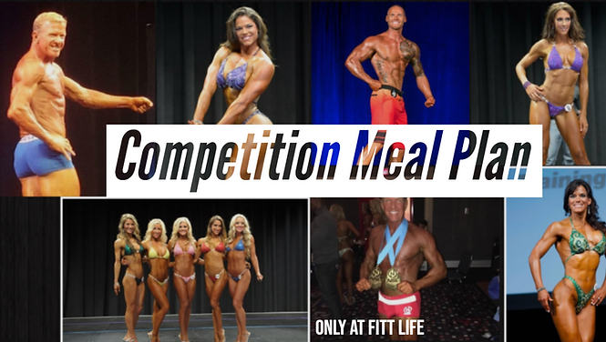 Competition Prep   Meal Plans