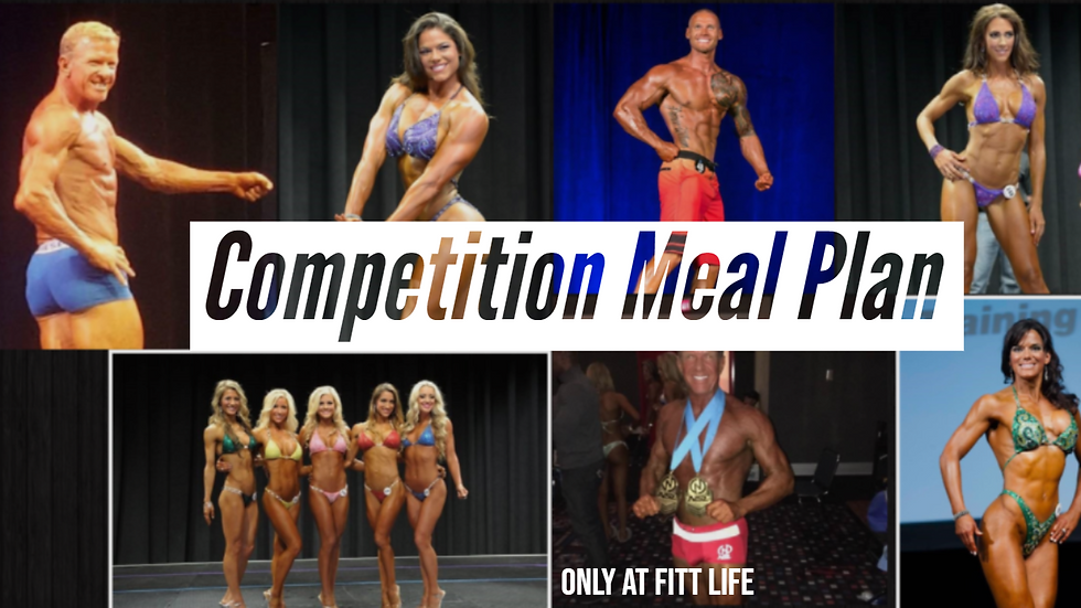 Competition Prep | Meal Plans