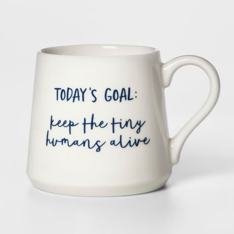 Porcelain Today's Goals Mug From Threshold
