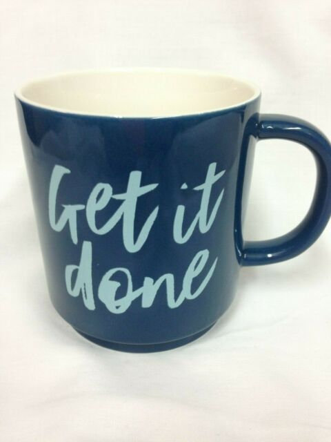 Stoneware Get it Done Mug- Threshold
