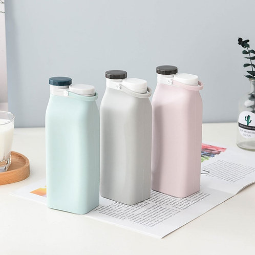 600ML Portable Silicone Water Bottle