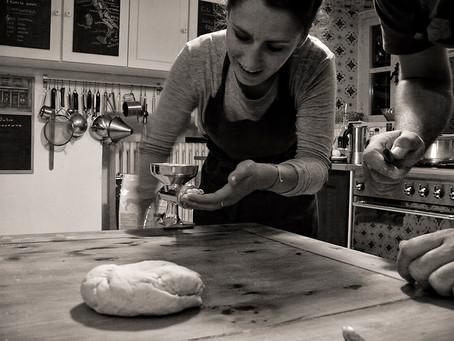 Pasta fresca a Selvabella...i nostri ospiti in cucina!